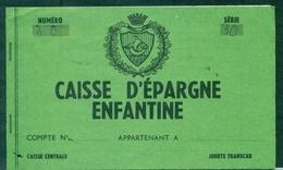 FRANCE Poste Enfantine Livret Caisse D'épargne Années 60 B/tb Rare - Curiosidades: 1960-69 Cartas