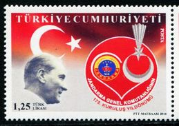 XD0065 Turkey 2013 Kemore And The Flag 1v MNH - Nuevos