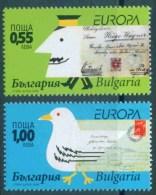 Europa CEPT 2008 BULGARIA The Letter - Fine Set MNH - Europa-CEPT