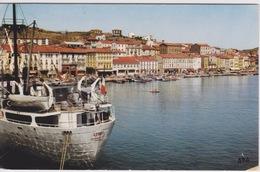 66 - PORT VENDRES - VUE SUR LA VILLE ET LE PORT  - LA COTE VERMEILLE - Port Vendres