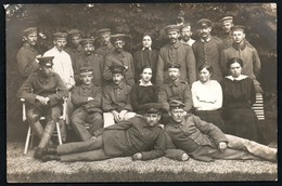 A3503 - Alte Foto Ansichtskarte  -  1. WK WW - Soldat Offizier Uniform - Reg. 134 - 64 - Malmedy 1916 - War 1914-18