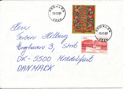Norway Cover Sent To Denmark Redalen 15-11-1989 - Norvège