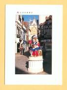 CPM FRANCE 89  ~  AUXERRE  ~  10119  Statue De L'écrivain Rétif De La Bretonne  ( Ed. Nivernaises 90/00 ) - Auxerre