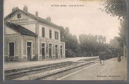 AUXON . Quai De La Gare . - France