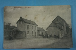 Martelange Gare Belge (tram à Vapeur, Stoomtram) - Martelange