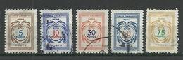 Turkey; 1971 Official Stamps (Complete Set) - Sellos De Servicio