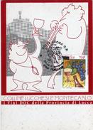 Italia 1996 FDC Lucca Vini Italiani Wine Cartolina Dedicata - Vini E Alcolici