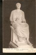 Pk1. France Musee Du Louvre Sculpture Antique TRAJAN Marbe Romain - Collection ND Phot Unposted Postcard - Sculpturen