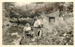 Saint Cyr La Riviere -(essonnes) - Paysage , Lavoir En 1955; Photo Format 13,8x8,7cm. - Lieux