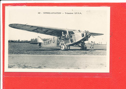Avion Trimoteur S P C A  Cpa ISTRES AVIATION               440 Coll Tranchant - 1946-....: Ere Moderne