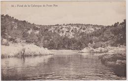 13  Fond De La Calanque De  Port Pin - Autres Communes