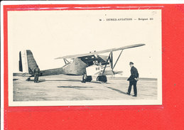 Avion Breguet 411 Cpa ISTRES AVIATION               448 Coll Tranchant - 1946-....: Moderne