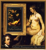 Centrafrica 2011, Art, Painting By Rembrandt, Naked, BF