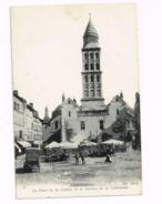 La Place De La Clautre Et Le Clocher De La Cathédrale - Périgueux