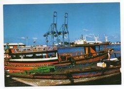 DJIBOUTI---1989---Port--Quai Aux Boutres (bateaux,grues) Cpm N° 8823 éd Sté  D'édition De Djibouti  .... à Saisir - Dschibuti