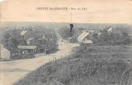 02-ORIGNY-STE-BENOITE- RUE DU THIL - Francia