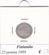 FINLANDIA   25 PENNIA  1889  COME DA FOTO - Finlandia