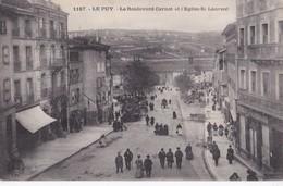 1187 LE PUY                                      Le Boulevard Carnot - Le Puy En Velay