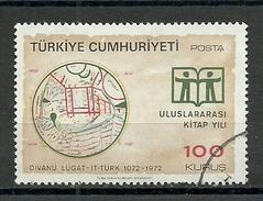 Turkey ; 1972 International Book Year - 1921-... República