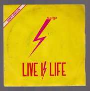 45 Tours - Stargo 45t. SP *live Is Life* - Dance, Techno & House