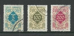 Turkey ; 1972 Official Stamps - Sellos De Servicio