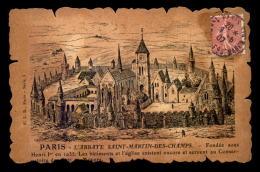 75 - PARIS 3EME - GRAVURE - L'ABBAYE ST-MARTIN-DES-CHAMPS - Arrondissement: 03