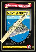 50-MONT SAINT MICHEL  - BLASON -ECUSSON HERAIDIQUE - Le Mont Saint Michel