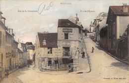 CPA 95 PONTOISE RUE DE LA COUTELLERIE RUE DE L EPERON 1905 - Pontoise