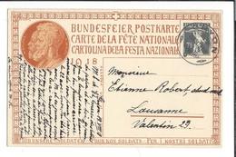 N 40 - Carte N°23 Fête Nationale 1918Gryon 20.08.1918 Bundesfeier Postkarte - Interi Postali