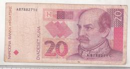 Croatia 20 Kuna 1993 Circulated - Croatia
