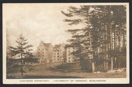 BURLINGTON Converse Dormitory University Of Vermont (Perkins) Etats Unis Vermont USA - Burlington