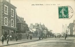 35.SAINT MALO.N°25582.L'OCTROI DU SILLON.EPICERIE.PENSION DE FAMILLE - Saint Malo