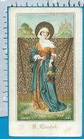 Holycard   St. Elisabeth - Images Religieuses