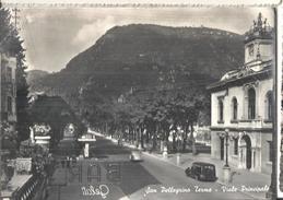 SAN PELLEGRINO.T.VIA PRINCIPALE,PANORAMA,VIAggiata.-1958-FG-229 - Bergamo