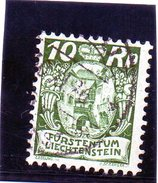 B - 1924 Lietchenstein - Stemma