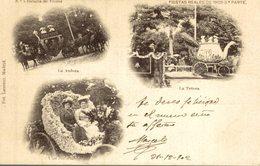 FIESTAS REALES DE 1902. 3ª PARTE. Nº7 LA BATALLA DE LAS FLORES - Madrid