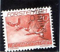 B - 1939 Lietchenstein - Uccelli - La Poiana