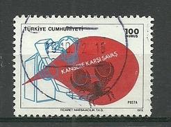 Turkey ; 1972 Fight Against Cancer - 1921-... República