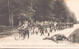La Grande Guerre 1914-1915 Foret De Laigue Pres De Compiegne Zouaves Patrouillant Sur Le Front - War 1914-18