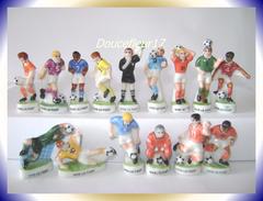 Foot, Vive Le Foot 1 ...Serie Complète De 15 Fèves ... Ref. AFF : 76-1998 ...(pan 0031) - Sports