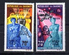 Serie Nº A-107/8  Dahomey - Astrología