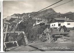 GRESSONEY BAR CHAMOIS E SEGGIOVIA ,PANORAMA,VIAggiata.-1961-FG-239 - Aosta