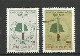 Turkey ; 1973 Land Forces Day - 1921-... República