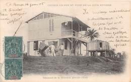 COTE D IVOIRE / Chemin De Fer - Bâtiment De La Direction - Côte-d'Ivoire