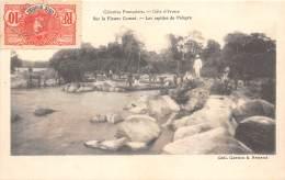 COTE D IVOIRE / Sur Le Fleuve Comoé - Les Rapides De Pétèpre - Belle Oblitération - Côte-d'Ivoire