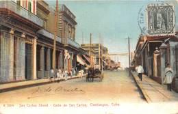 CUBA / San Carlos Street - Cienfuegos - Cuba