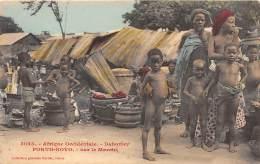 DAHOMEY / Porto Novo - Sur Le Marché - Très Beau Cliché - Dahomey