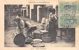 DAHOMEY / Achat D' Amandes - Belle Oblitération - Dahomey