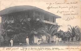 DAHOMEY / Cotonou - Maison Du Directeur Du Câble - - Dahomey
