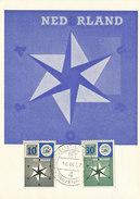 D29375 CARTE MAXIMUM CARD FD 1957 NETHERLANDS - EUROPA CEPT - CP ORIGINAL - Europa-CEPT